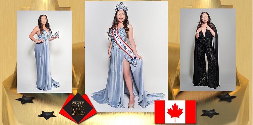 Winnie Mei Miss Petite Maja Mundial 2018, World Class Beauty Queens Magazine,
