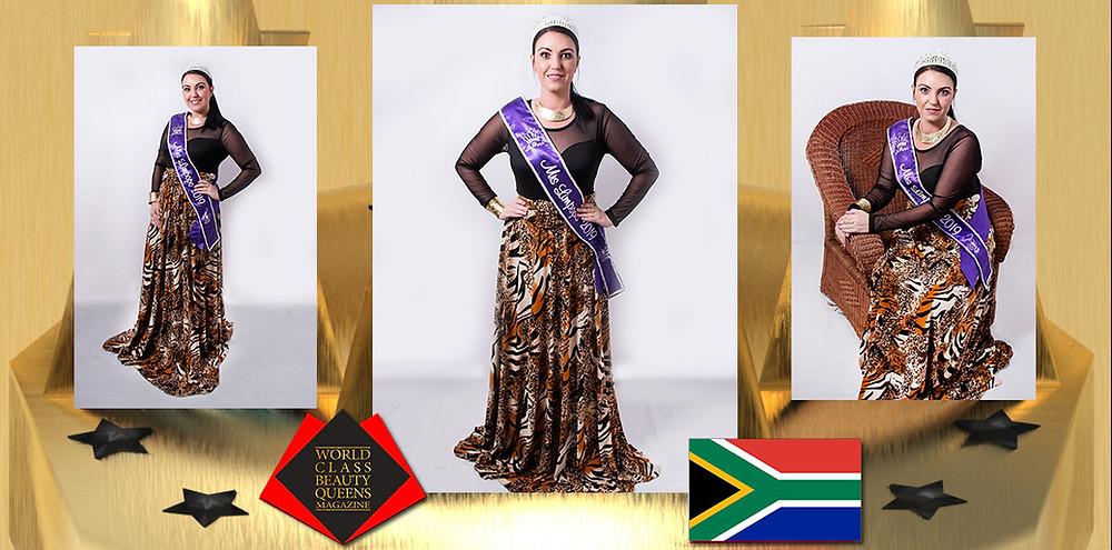 Lize Botha Mrs Limpopo 2019 – Mzantsi Africa, World Class Beauty Queens Magazine,