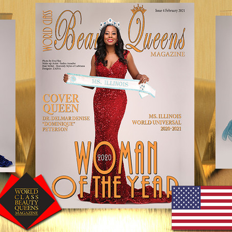 "Dr. Delmar Denise ""Dominique"" Peterson 2020 World Class Woman of the Year"