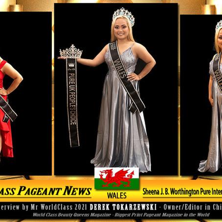 Sheena J. B. Worthington Pure International Ms Wales 2021