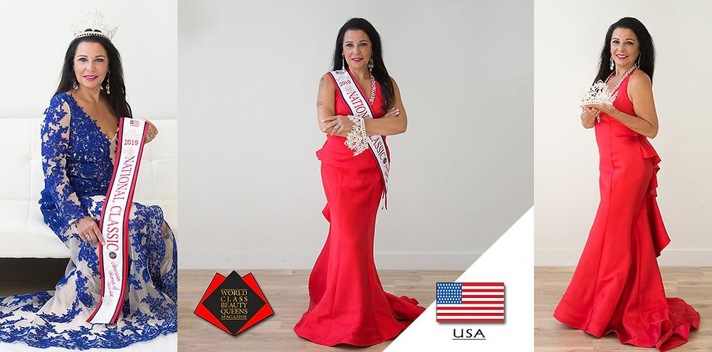 Anna Casador - Saccoccio 2019 National Classic American Woman of Service, World Class Beauty Queens Magazine,