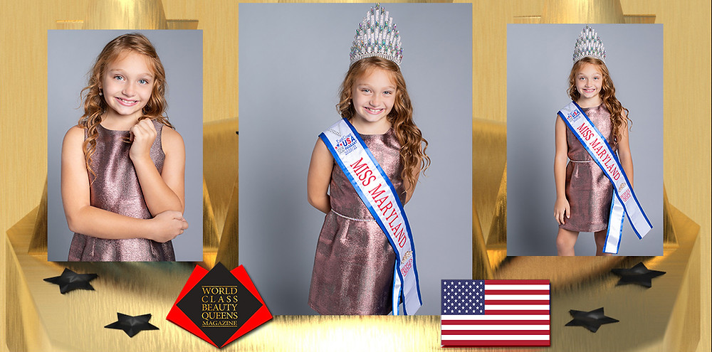 Veyha Elizabeth Omeis Miss Maryland, Peoples Choice, 2020-21, World Class Princess Magazine, Photo by Gallizzi Photography