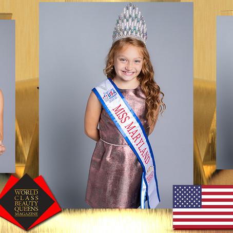 Veyha Elizabeth Omeis Miss Maryland, Peoples Choice, 2020-21