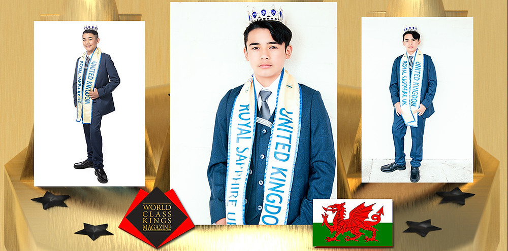 Connor Rhys Fallorina Dean Junior Master Royal Sapphire UK 2019-2020, World Class Kings Magazine, Photo by Ryan Cowburn & Stephen Cain photography