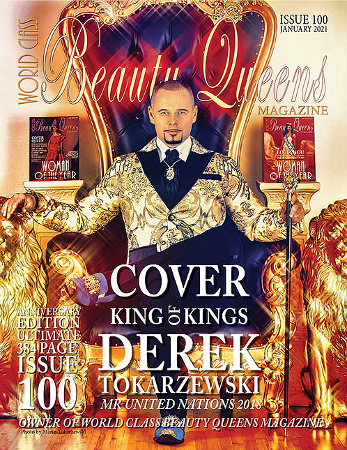Issue 100 World Class Beauty Queens Magazine