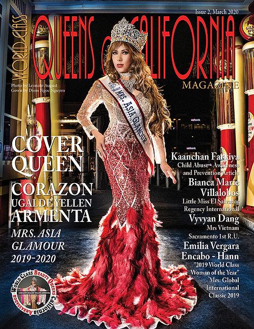 Issue 2 World Class Queens of California Magazine