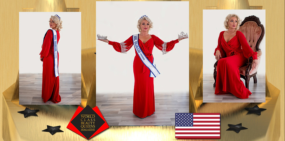 Jessica Brown Mrs. Colorado Universal 2021, World Class Beauty Queens Magazine