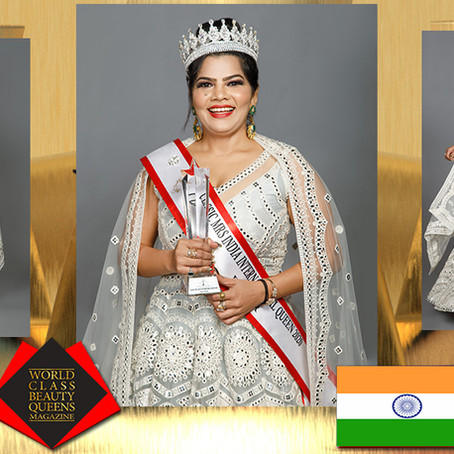 Manju Upadhyay Classic Mrs India International Queen 2020 Winner