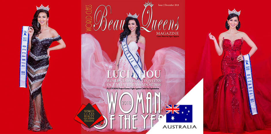 Lucia Hou 2018 World Class Woman of the Year