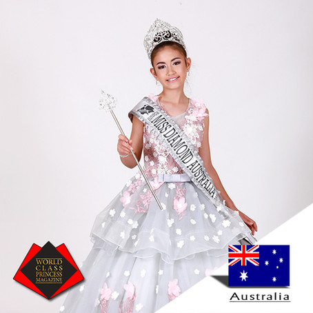 Serenity Ayla Charles Miss Junior Diamond Australia 2019