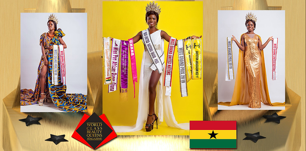 Harriet Lamptey Miss Grand Prix United Nations 2019, World Class Beauty Queens Magazine,
