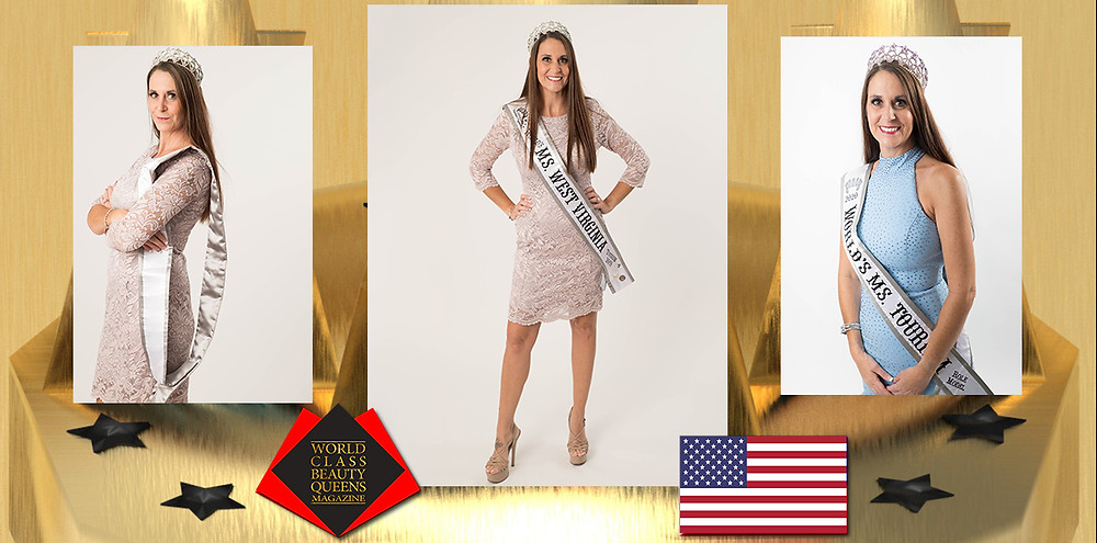 Kathi Hill Worlds Ms West Virginia Tourism 2019, World Class Beauty Queens Magazine, Brian Hancock-Lasting Expressions Studio