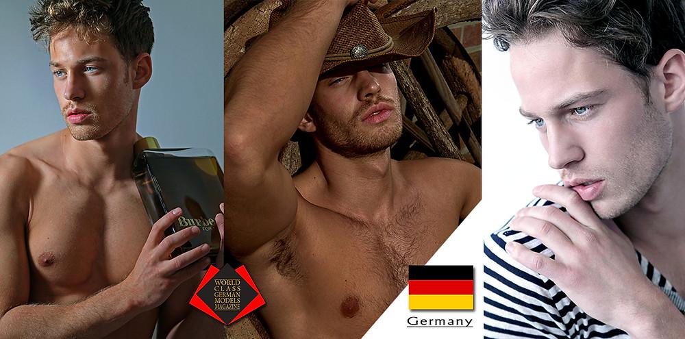 Luca Maximilian Steinmetz, World Class German Models Magazine, Photo by Phil Hung Nguyen