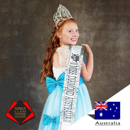 Montana Toni Laredo Miss Mini Diamond Australia 2019