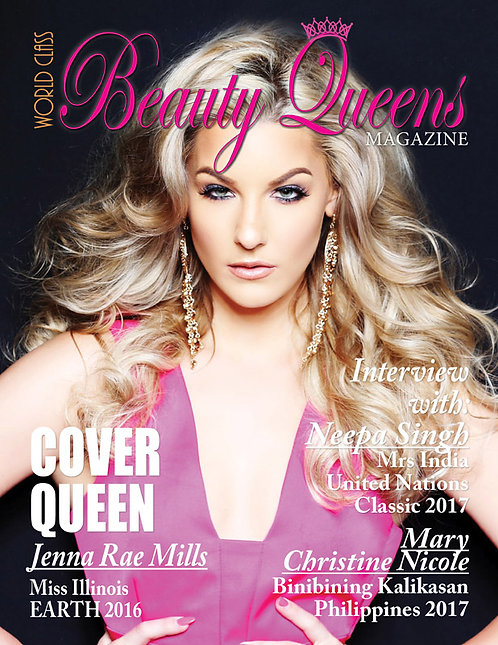 Issue 1 World Class Beauty Queens Magazine