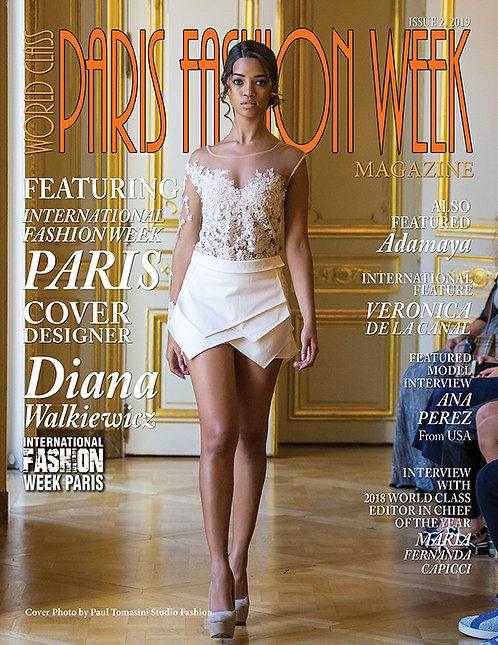 Issue 2 World Class Paris Fashion Week Magazine