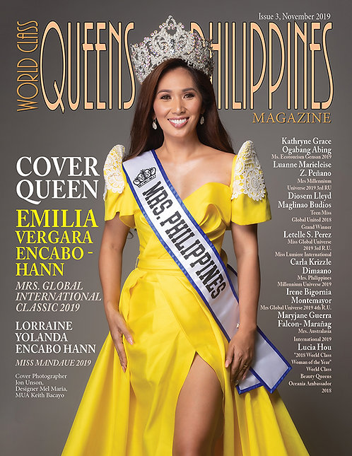 Issue 3 World Class Queens of Philippines Magazine