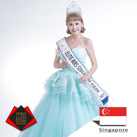 Erica Ho Chiet 2017 Mrs Elite Singapore Asean