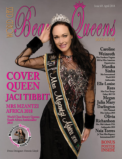 Issue 69 World Class Beauty Queens Magazine