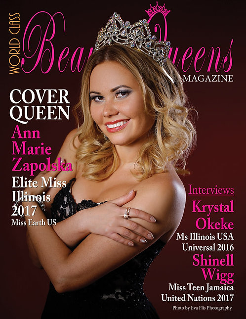 Issue 16 World Class Beauty Queens Magazine