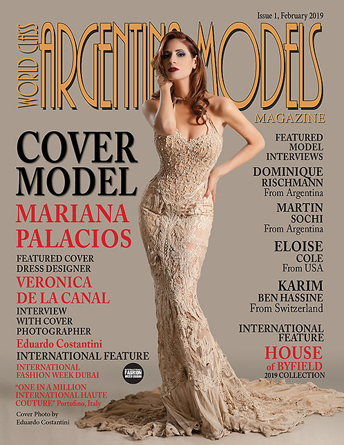 Issue 1 World Class Argentina Models Magazine