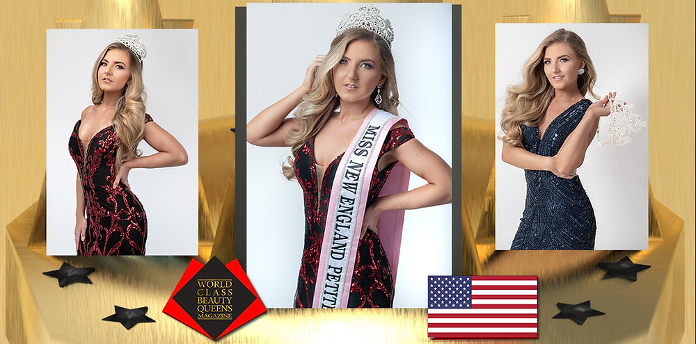 Taylor Loesch Miss New England Petite 2019, World Class Beauty Queens Magazine, Photographer: Mo Mendes-Granimo Studios Hair and Makeup: Heather Schofield- Haus of Beauty