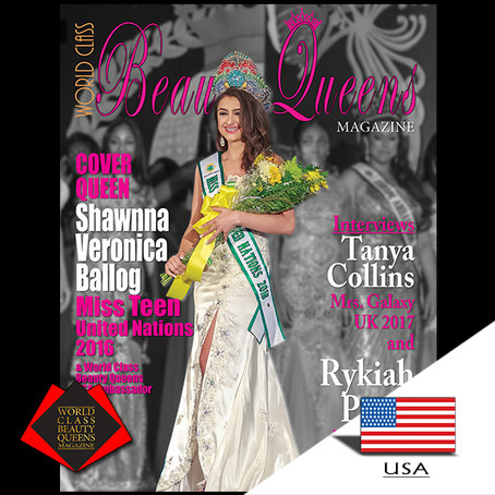 Shawnna Veronica Ballog Miss Teen United Nations 2016