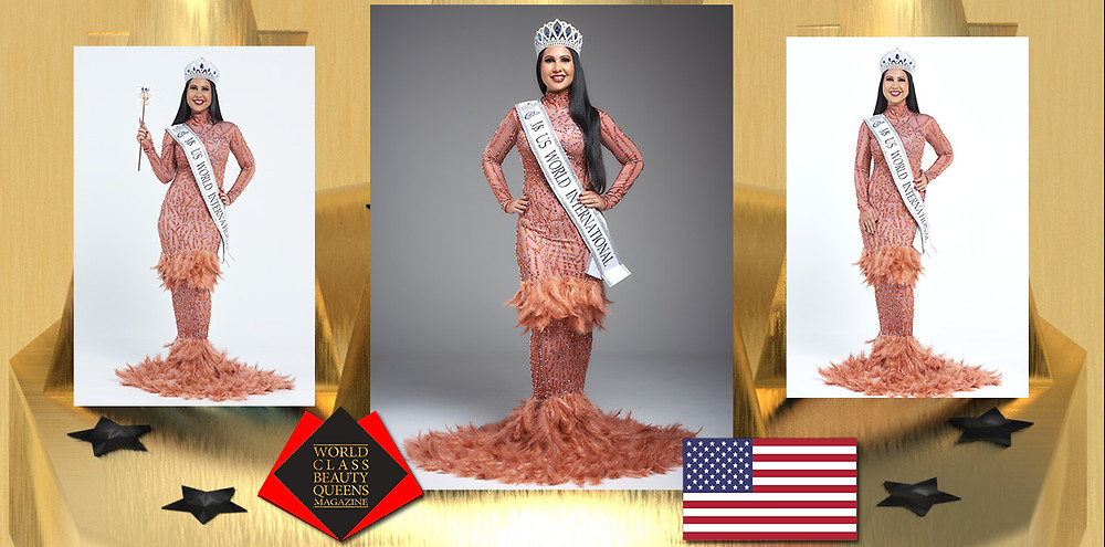 Priyanka Mishra Ms US World International 2019-2020, World Class Beauty Queens Magazine, Photo by Bill Linn from Cobalt studio PDX, Hair and Makeup Crystal Reynoso