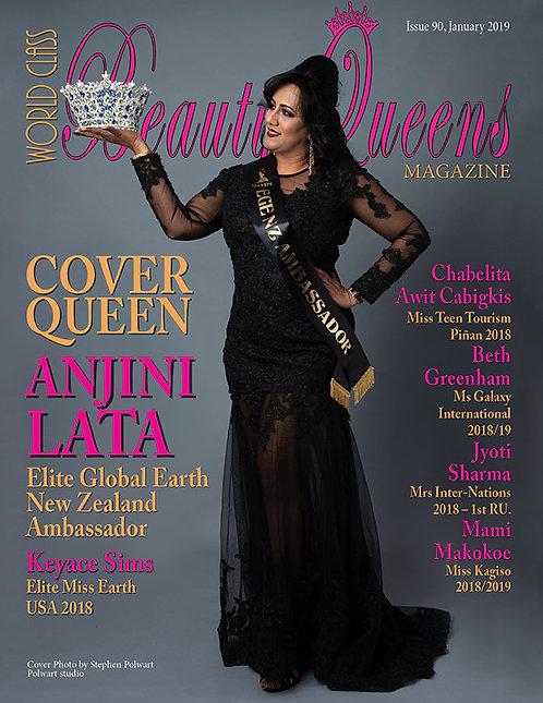 Issue 90 World Class Beauty Queens Magazine