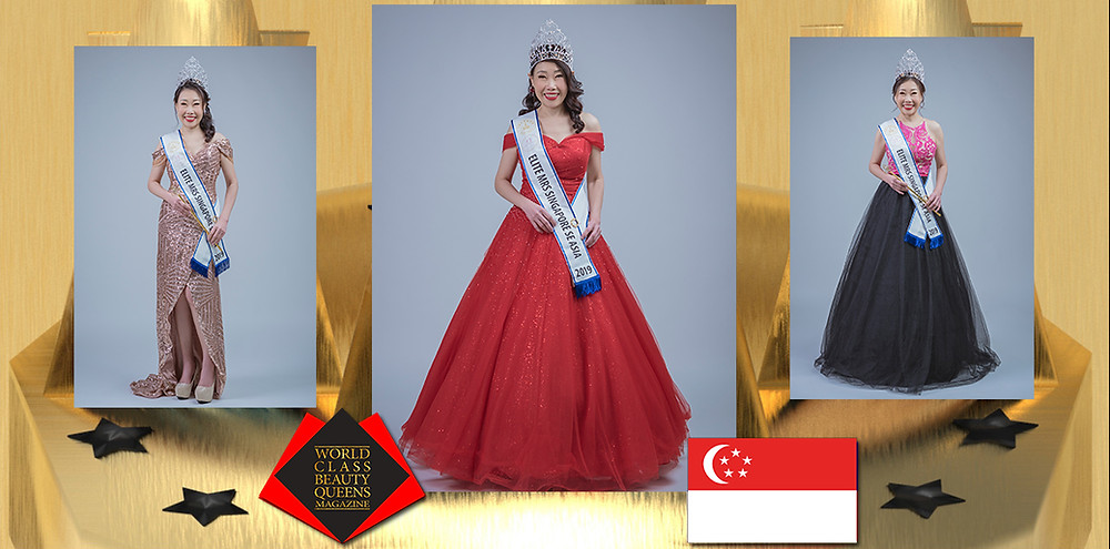 Grace Chong Chwee Yin TKS Elite Mrs Singapore SE Asia 2019, World Class Beauty Queens Magazine,