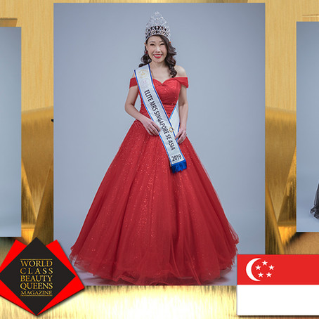 Grace Chong Chwee Yin TKS Elite Mrs Singapore SE Asia 2019
