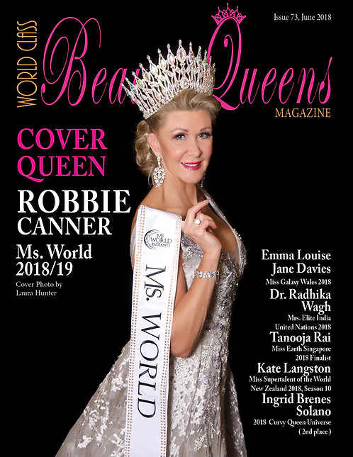 Issue 73 World Class Beauty Queens Magazine