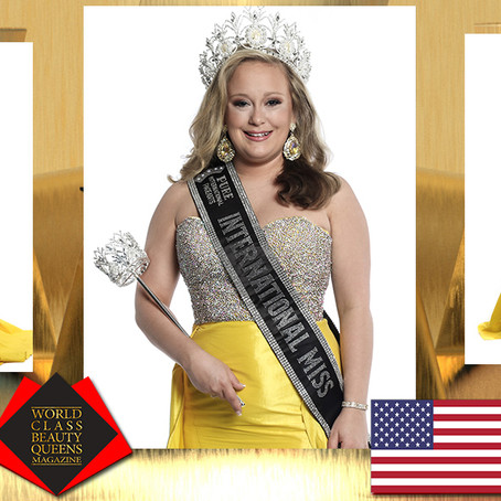 Brittany Sayre 2019 Pure International Miss
