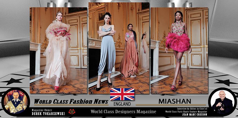 MIASHAN, World Class Designers Magazine, Photo by Jean Marc Cresson,