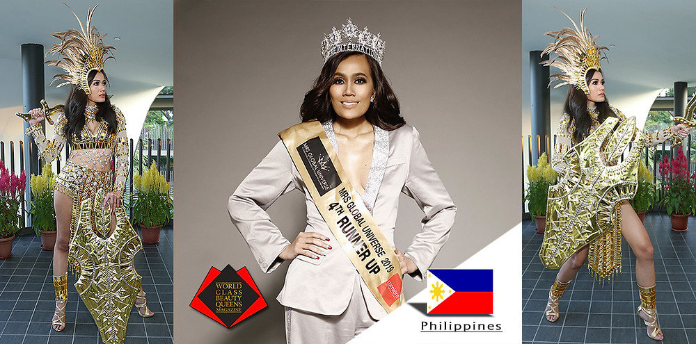 Irene Montemayor Mrs Global Universe 2019 4th runner up, World Class Beauty Queens Magazine,