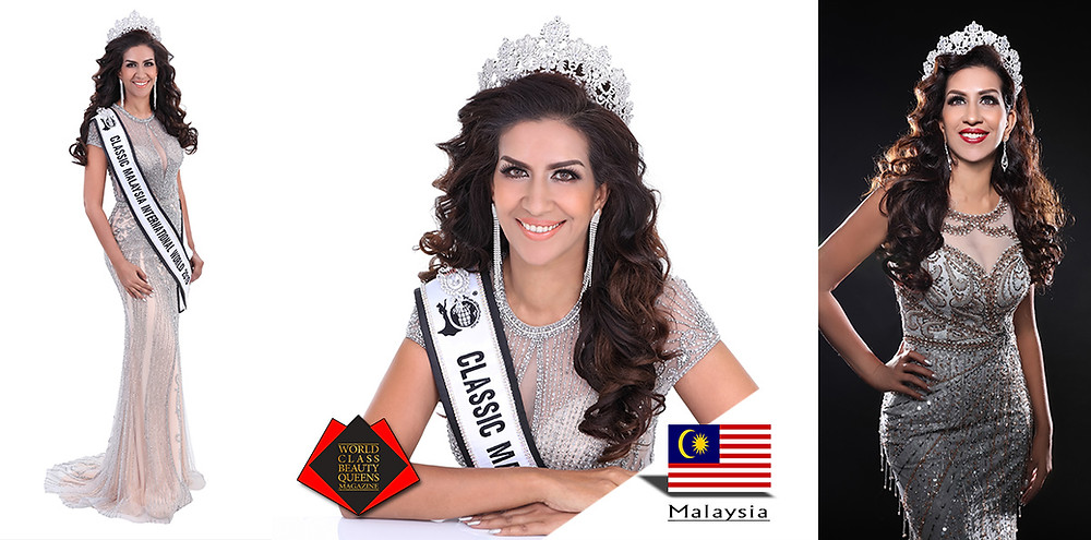 Sharon Jasmin Classic Malaysia International World Champion 2019 , World Class Beauty Queens Magazine,