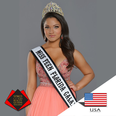 Alexa Marie Major 2019 Teen Florida Galaxy