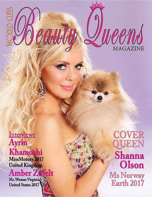 Issue 21 World Class Beauty Queens Magazine