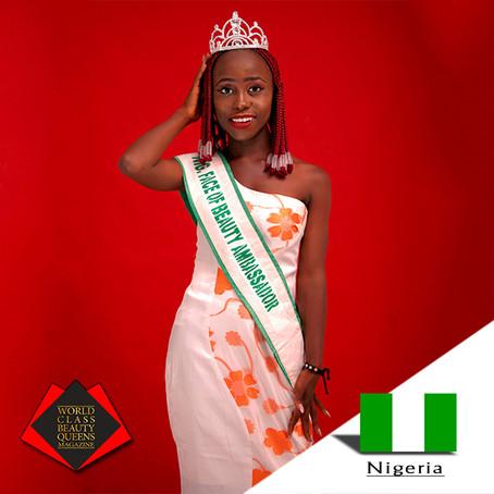 Maichibi Martha Nendelmwa Nigeria Face of Beauty Ambassador 2018/2019