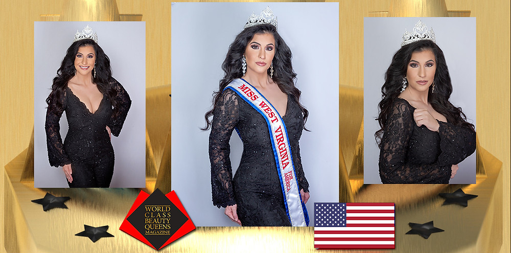 Kristin Wilson Miss West Virginia for America 2020, World Class Beauty Queens Magazine, Photo by Gretchen Pingley Photography