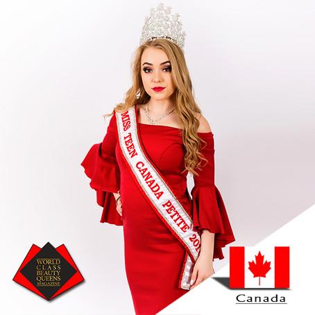 Ayden Kosko Miss Teen Canada Petite 2018, 2019