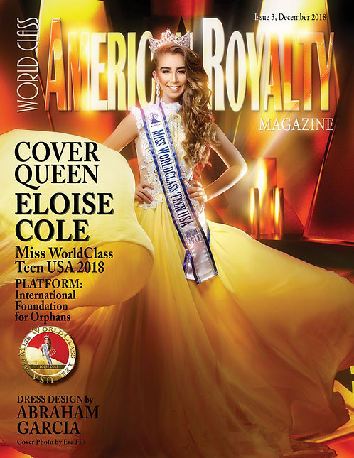 Issue 3 World Class American Royalty Magazine