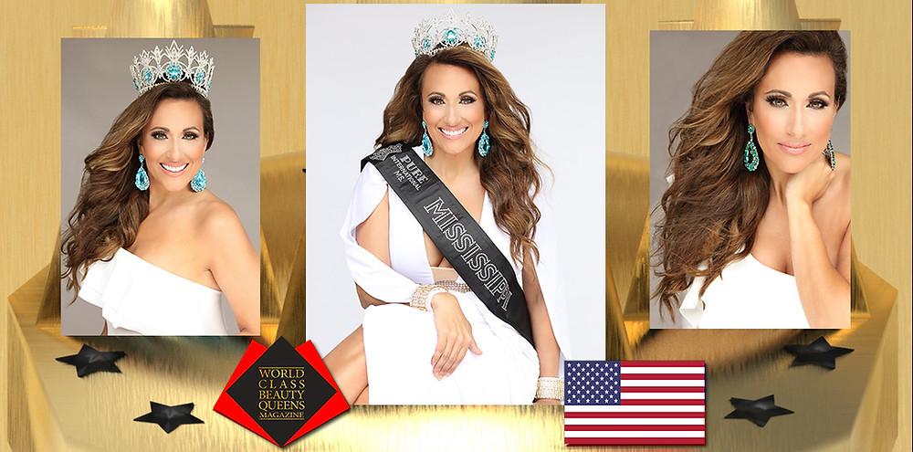 Keri McMillin Ms. Mississippi Pure International 2020, World Class Beauty Queens Magazine, Kristy Belcher-photographer  H/M-Kimberly Stinchcomb