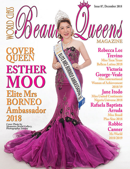 Issue 87 World Class Beauty Queens Magazine