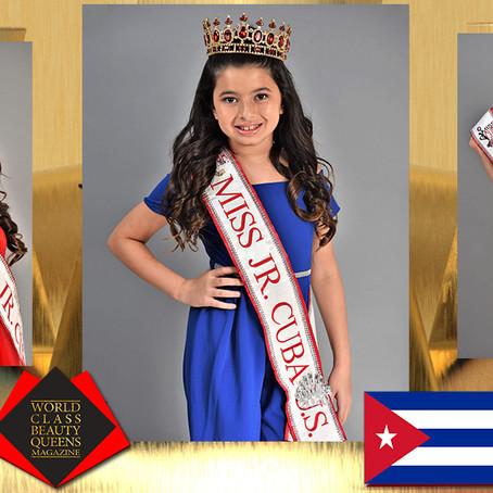 Brielle Trujillo Miss Jr. Cuba U.S. 2020
