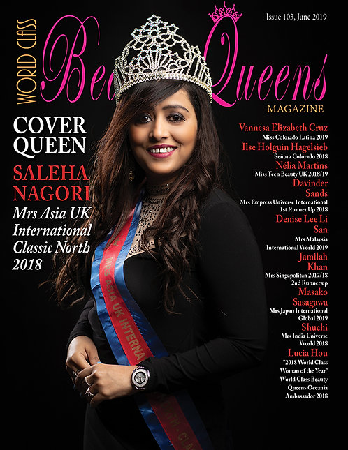Issue 103 World Class Beauty Queens Magazine