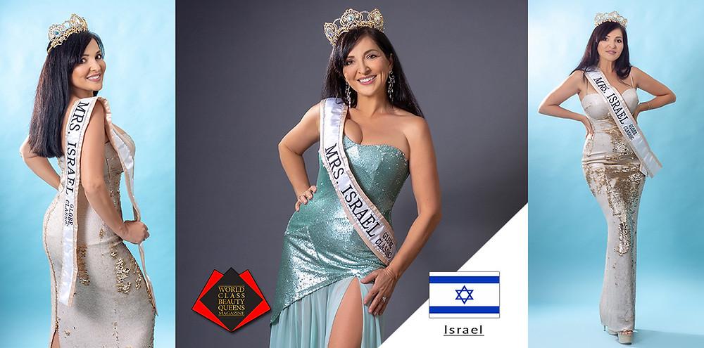 Tatyana Agadjanyan Mrs. Israel Globe Classic, World Class Beauty Queens Magazine,