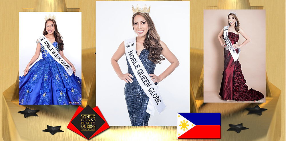 Beau Singson Villanueva Noble Queen Globe 2019, World Class Beauty Queens Magazine, Photo by Joel Maniquis Photography