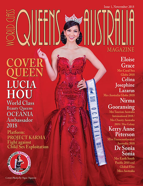 Issue 1 World Class Queens of Australia Magazine