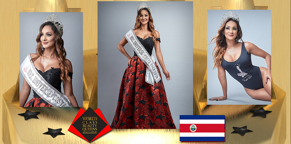 Johanna García Fernández Mrs Universe Costa Rica 2016, World Class Beauty Queens Magazine, Photo by OSO/Hormiguero Fotografia